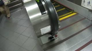 台北捷運古亭站5號舊出口舊電扶梯往上專用實況最後一天 thumbnail
