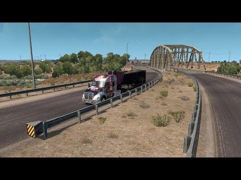ATS New Mexico DLC Kayenta - Santa Fe Gameplay