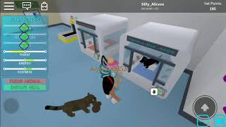 LOOK HOW DIFFERENT I LOOK! Roblox vet Simulator Silly_Aliceee playz ROBLOX