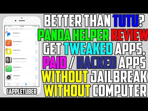 Better Than TUTU Helper? Panda Helper - Get Paid Apps & Hacked Games / ++  App (NO Jailbreak / NO PC)