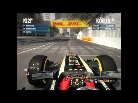 F1 2012 [GoCompete - E liga] Monakói nagydíj
