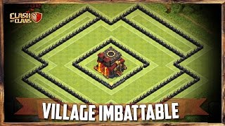 COC   Village HDV 10 IMBATTABLE - Rush   Clash of Clans