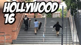 METAL SKATEBOARD BENDS IN STAIR S K A T E  STUPID SKATE