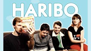 Degustação de Haribo com Amigos - Marcas de doce alemãs - Alemanizando