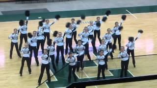 Plymouth Varsity Pom - Mid American Pom State Championship 2013