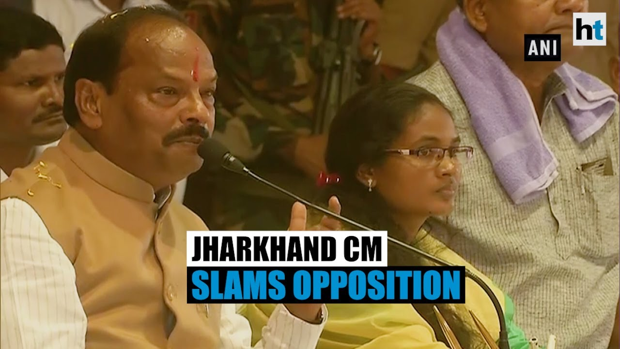 Ahead of polls, Jharkhand CM accuses opposition of misleading tribals