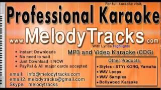 Zinda hoon is tarah ke - Mukesh KarAoke - www.MelodyTracks.com