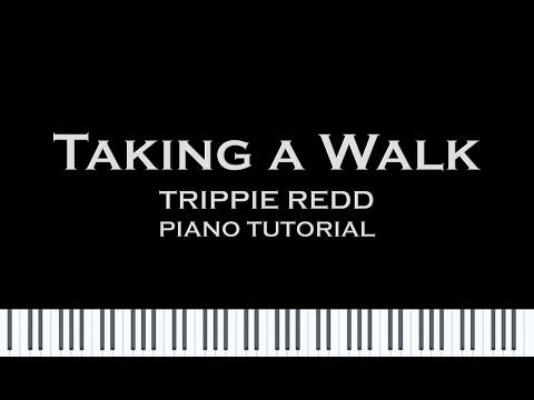 Trippie Redd - Taking a walk (Piano Cover/Tutorial w/ Sheet Music) thumbnail