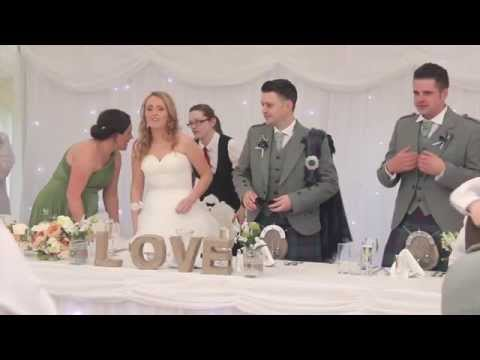 Jennifer & Frank - Our Wedding Highlights - Shieldhill Castle, Biggar.