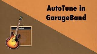 Autotune In GarageBand