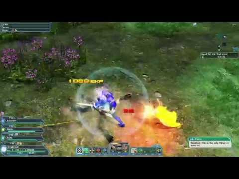 Phantasy Star Online 2 Let's Play - Episode 125 - Special Survey: Forest