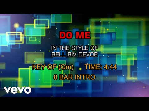 Bell Biv DeVoe - Do Me (Karaoke)