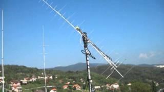 Satellite Antenna System With Tonna Antennas And Yaesu Rotator G-5500 - Neven, 9A5YY