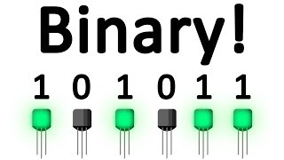 Video Why Do Computers Use 1s and 0s? Binary and Transistors Explained. download MP3, 3GP, MP4, WEBM, AVI, FLV Mei 2018