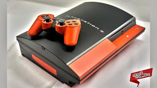 PS3 Fat Custom Paint - Game Console Transformation