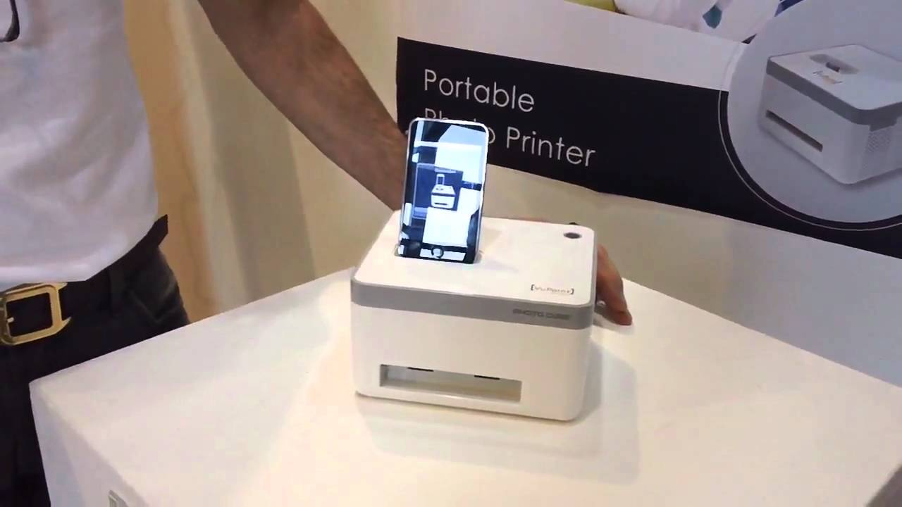 Photo Cube Printer Vupoint Solutions Youtube