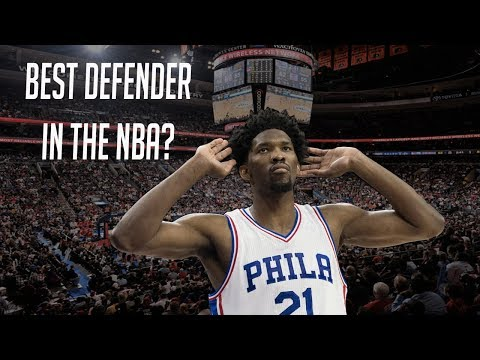 Why Joel Embiid Is The 2018 DEFENSIVE PLAYER OF THE YEAR!