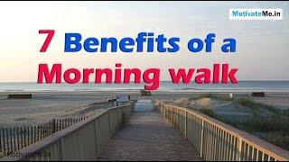 benefit of morning walk