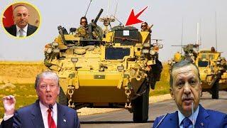 দেখুন তুরস্কের হুমকির পর সিরিয়া থেকে পালাচ্ছে মার্কিন বাহিনী !!