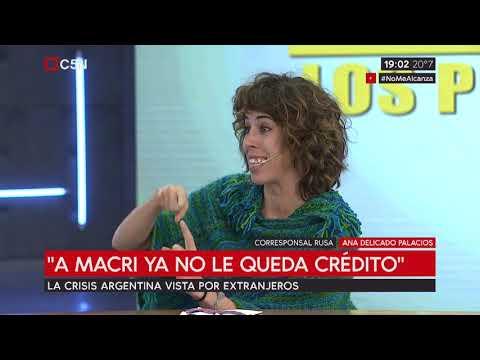 La crisis argentina vista por extranjeros