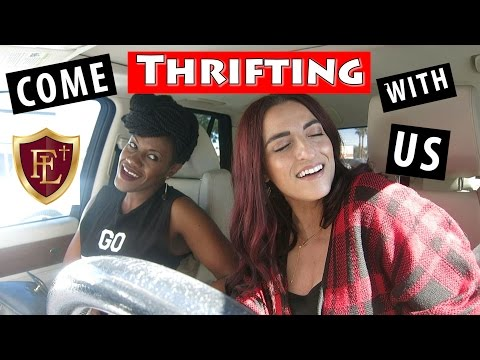 Faith Lutheran Return Fill that paper bag! Part 1|Come Thrifting With Us|#ThriftersAnonymous