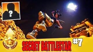 Estrella de batalla secreta en la semana 7 Guía de ubicación en Fortnite // GRATIS nivel de pase de batalla en la temporada 8