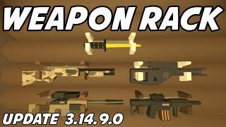 UNTURNED - Gun Rack! Trophy Case! Frag Mags! Rain! (New Update 3.14.9.0)