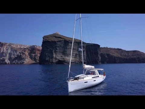 May 2017 Greece Sailing Trip at Cyclades Island