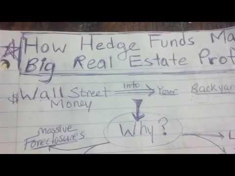How Hedge Funds Make Big Profits in Real Estate