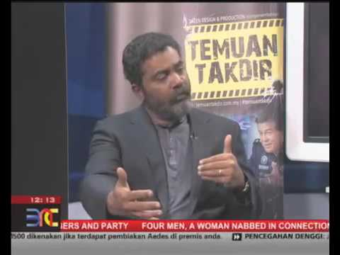 "Bernama, The Nation - Interview with the director of ""Temuan Takdir"""