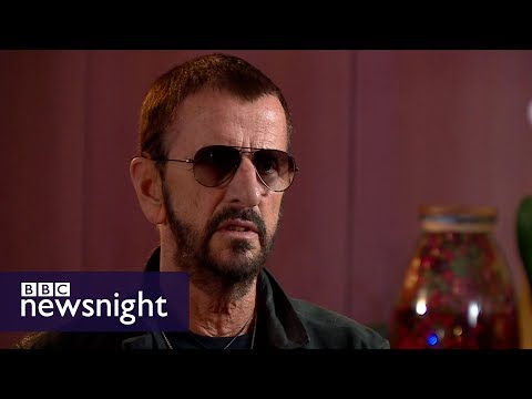 Ringo Starr on peace, love, and why he thinks Brexit is a 'great move' - BBC Newsnight
