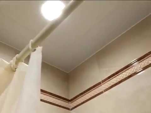 Дорогой ремонт ванной комнаты 3 кв.м, с изменением схемы расстановки