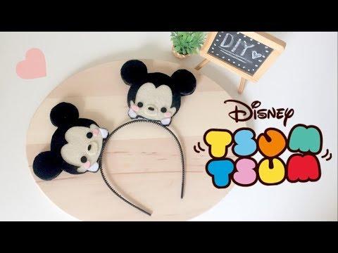 DIY Disney Mickey Tsum Tsum Ears - Headband