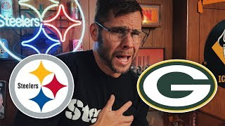 Dad Reacts to Steelers vs Packers (Week 12)