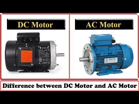 DC Motor vs AC Motor  -  Difference between DC Motor and AC Motor