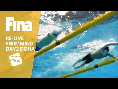 Re-Live | Day 2 - FINA/airweave Swimming World Cup 2016 #6 Doha