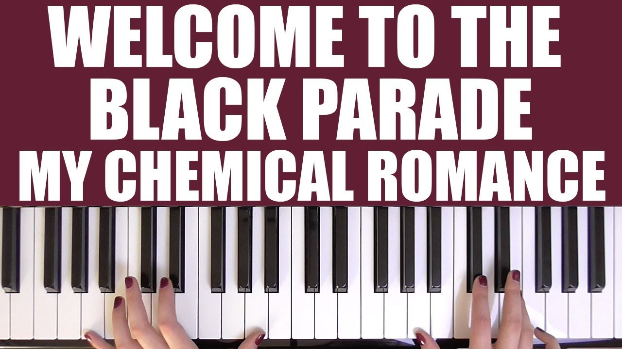 How to play welcome to the black parade my chemical romance how to play welcome to the black parade my chemical romance hexwebz Images