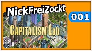 Capitalism Lab #001 ► Wir starten mit Frei Global ► Capitalsm Lab Gameplay deutsch