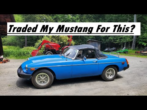 I Traded My Mustang For This?? (1977 MGB)