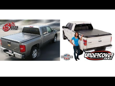 Bakflip vs undercover types of hard tonneau cover for Types of bed covers