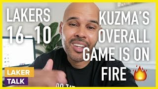 Lakers Beat Grizzlies, Kuzma's Overall Game is on Fire!