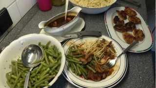 Soja-Medaillons auf schwäbische Art Küche Kochen