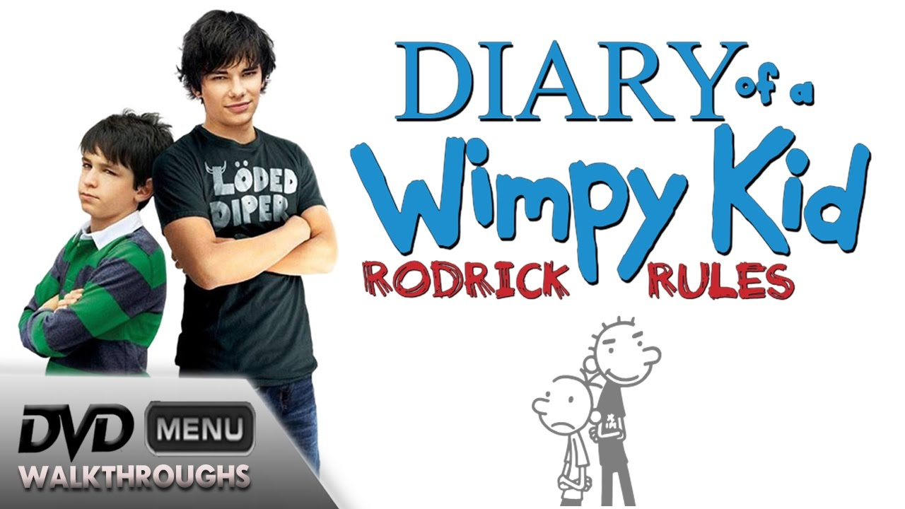 Diary Of A Wimpy Kid Rodrick Rules 2011 Dvd Menu Walkthrough Youtube