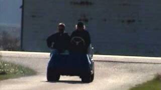 100hp golf cart wheelie