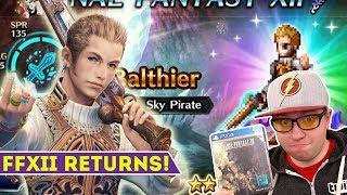 [FFBE] Final Fantasy Brave Exvius - Final Fantasy XII Has Returned!  Balthier is Here!