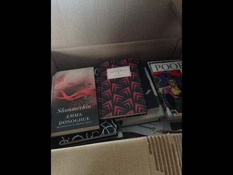 Bookdepository Unboxing (completely unplanned)