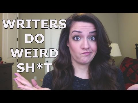 The Nine Weird Habits of Writers