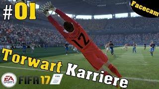 Fifa 17 Torwart Karriere 😎Geiler Start #01 Fifa 17 Torwart Spielerkarriere [geschnitten] thumbnail