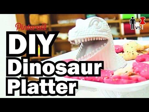 DIY Dinosaur Platter - Man Vs. Pin #10