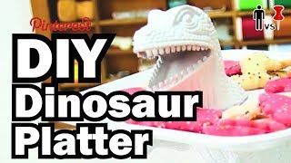 DIY Dinosaur Platter - Man Vs. Pin #10